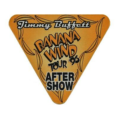 Jimmy Buffett authentic Aftershow 1996 tour Backstage Pass