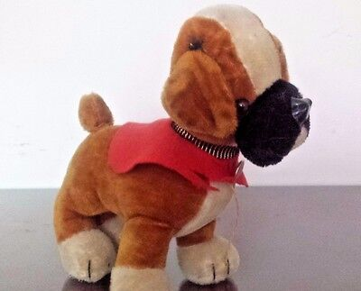 Vintage Merrythought Dog  24 cms. long, 24 cms. tall