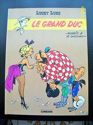 "lucky luke ""le grand duc"" eo 1974 bon etat"