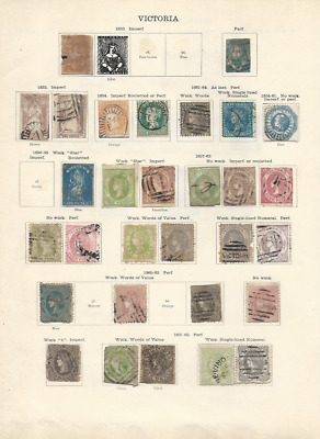 Victoria Collection (~150 Stamps)