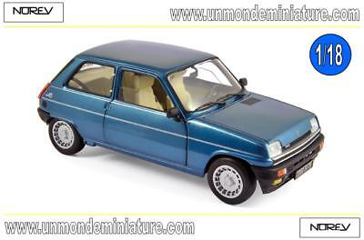 Renault 5 Alpine Turbo 1981 Navy Blue NOREV - NO 185157 - Echelle 1/18