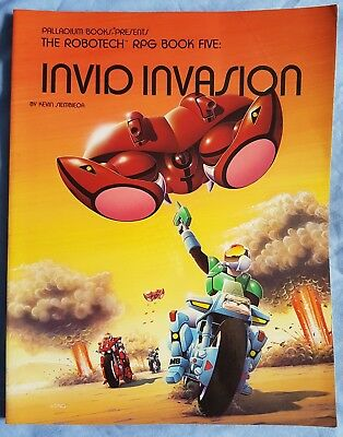 Robotech RPG Invid Invasion Book 5