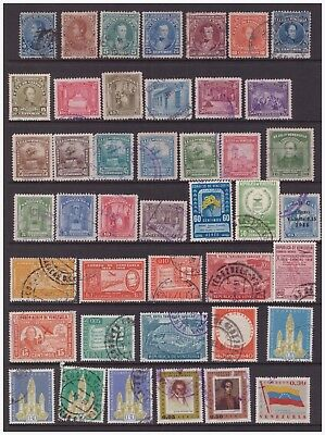 Venezuela  used stamps selection