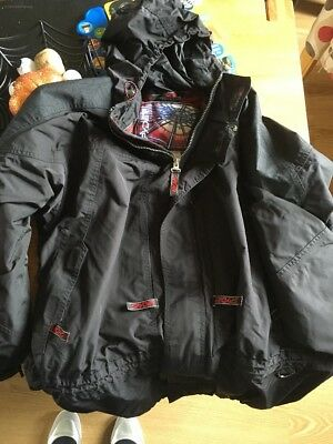Men's Black Spyder Snow Board Jacket Xl