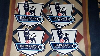Barclays Premier League   Iron On   4 X  Patches    Not Sealed    New Condition
