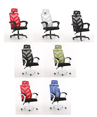 New Transformers Type High Back Mesh Racing Bucket Office Desk Computer Chair