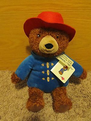 "Paddington Bear 15"" Super Soft Stuffed Plush So Cute *new W/tag"