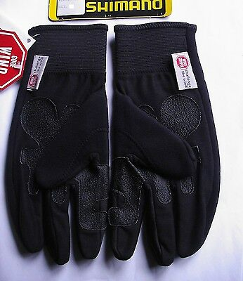 Gants  GUANTO INVERN. Windstopper  SHIMANO vélo neufs  taille M