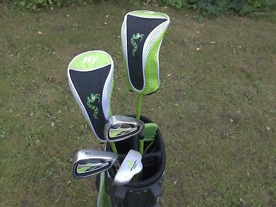A Nice Set Of Junior Woodworm Zoom Golf Clubs And Bag In Very Good Condition
