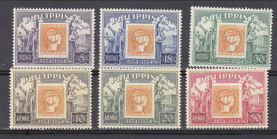 Philippines 1954 Centenary of stamp (66-140)