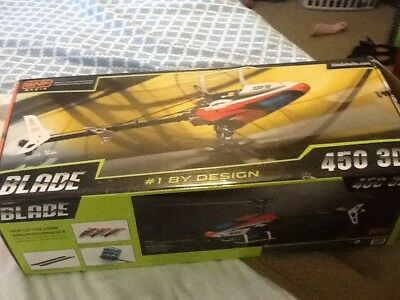 Blade 450 3D Helicopter - Flown Once. Mint.  Free Shipping !