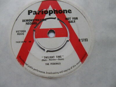 Federals - Twilight Time (Demo) Vg+