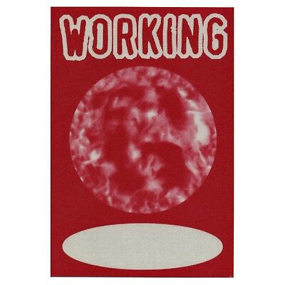 Garbage authentic Working 1995 tour Backstage Pass