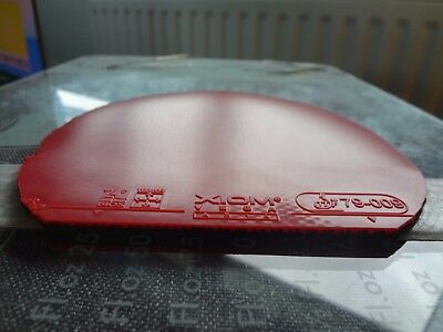 used table tennis rubber Xiom Vega Asia  W150mm x H155mm