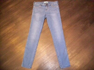 ABERCROMBIE & FITCH KIDS GIRLS SKINNY BLUE JEANS AGE 16 YEARS WAIST 30 inch.