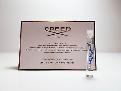 Creed Virgin Island Water Carded Sample