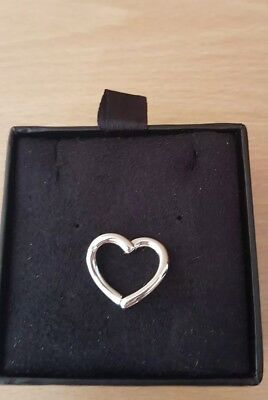 Hot Diamonds Just Add Love Pendant Only Love Heart Necklace charm