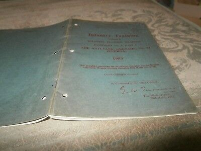 Infantry Training Volume 1 Anti-Tank Grenade 1953
