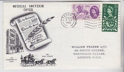 Gb Stamps 1960 General Letter Office First Day Cover Postal History Collection