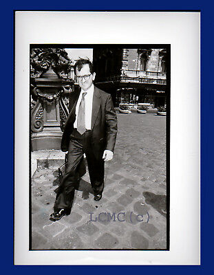 Fotografia Press Photo 1993 Il Magistrato Giuseppe Di Lello Pool Falcone Borsell