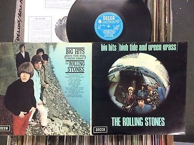 "The Rolling Stones:""big Hits"".1966 Decca Mono+Photo Booklet+Laminated Gatefold."