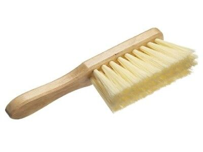 "Harris 11"" PVC Hand Brush (Soft Bristles) Cream Oreginal & Genuien"