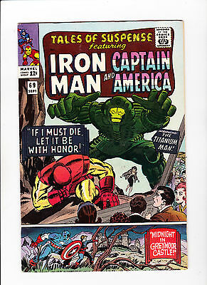 Tales of Suspense #69 (Sep 1965, Marvel) 8.5 - White Pages