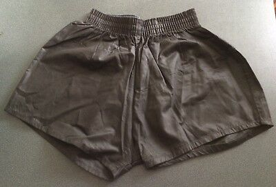 Vintage Umbro Black Cotton Shorts, Size 34""