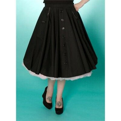 Miss Fortune Vtg 50s style Alice circle skirt - amazing quality - Size M