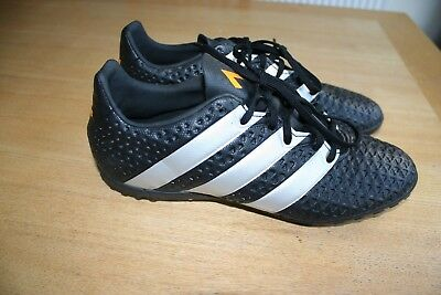 Adidas Black Ace 16.4 Tf Turf Astro Trainers (Aq5070) Size Uk 8.5 (Us 9)
