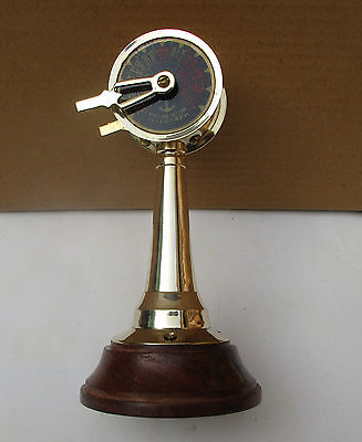 "Table Top Engine Telegraph 6"" Nautical Brass Finish Decorative Item"
