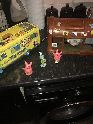 spongebob squarepants Camper van and cafe