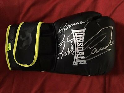 Legit Hand Signed in person by Gennady Golovkin & Canelo Alvarez Boxing Glove 🥊