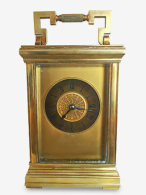 Antique Aiguilles French Carriage Clock