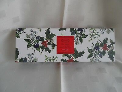 "Portmeirion ""Holly & Ivy"" Cake Slice - Boxed"