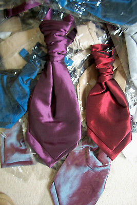 50   Boys   Tied Wedding Cravats  New And Packaged  Job Lot