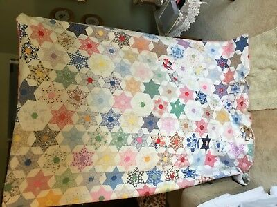 1930's Hand Made Quilt
