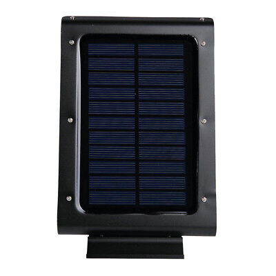 46 LED Solar Power Motion Sensor Lights Wall Pole Outdoor Garden Fence Lamp