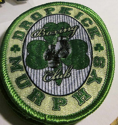 Dropkick Murphys Collectable Rare Vintage Patch Embroided 2016 Boxing Club