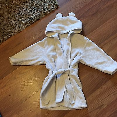 6-12 Months Dressing Gown (perfect After Swimming)