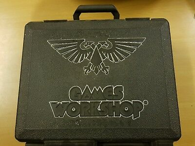 Games Workshop Carry Case Black With Red Foam