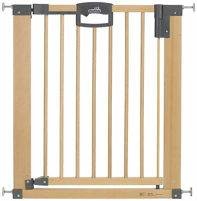 Geuther Door Safety Gate Easy Lock (Wood Range of Adjustment 75.5 - 83.5cm)
