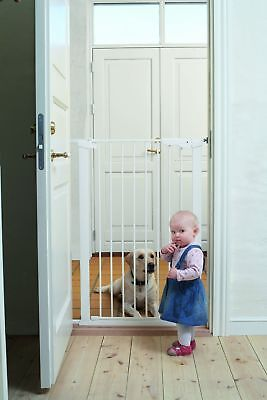 BabyDan Premier Pet Gate White