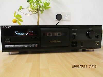 Sony TC-K311 2 Head Stereo Deck. New Belts and Pinch Roller.
