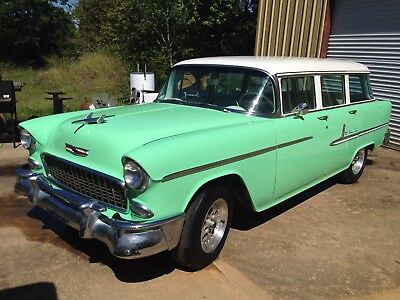 1955 Chevrolet Bel Air/150/210 Wagon 1955 Chevy Wagon with NEW 350 V8 ENGINE