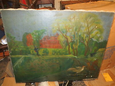 1920's Original Painting signed Yun Gee    Must see