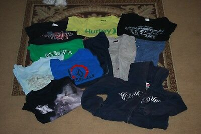 Lot Youth Boys Shorts Shirt Jacket Hoodie 5 6  Children's Hurley Quiksilver