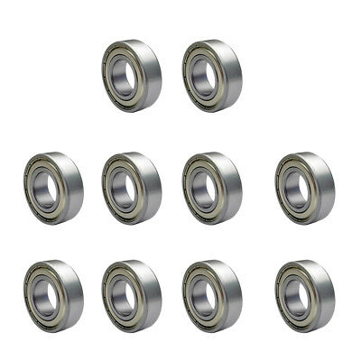 10pcs 623zz Radial Ball Bearings 3D Printer Mini Bearing for Reprap Silver