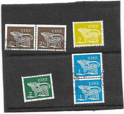 "Stamps: Ireland 1971 ""booklet"" Definitives  (G/used)"