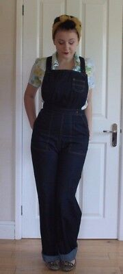 Freddies of Pinewood dungarees - vtg 50s rockabilly - 28 waist